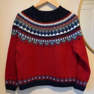 Eddie Bauer Nordic Style Fair Isles Sweater